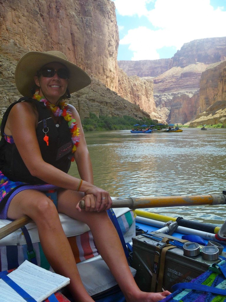 Lisa Connel gets reflective on the river